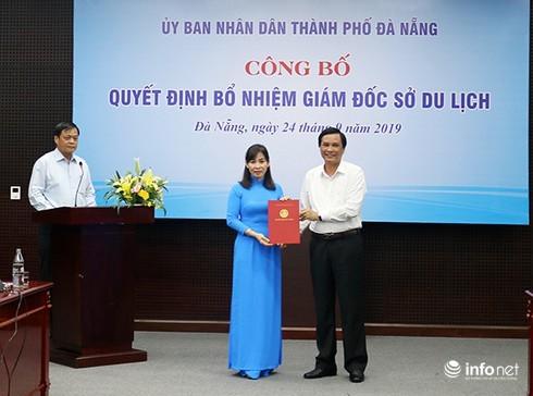 Đà Nẵng bổ nhiệm bà Trương Thị Hồng Hạnh giữ chức Giám đốc Sở Du lịch