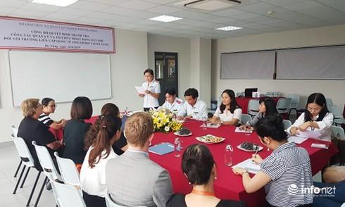 Thanh tra Trường liên cấp quốc tế Singapore tại Đà Nẵng