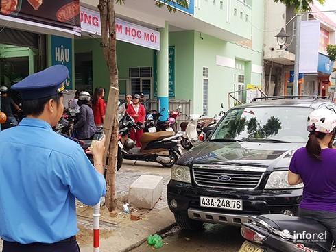 Đà Nẵng: 14 tổ công tác thường trực đảm bảo ATGT trước các cổng trường