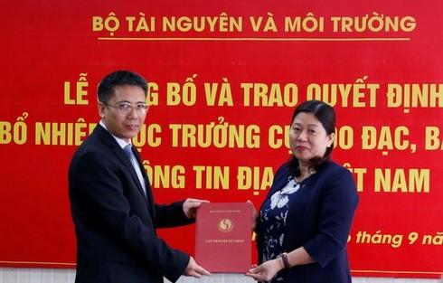 Nhân sự mới của Viện Kiểm sát nhân dân tối cao, Bộ Tài nguyên và Môi trường