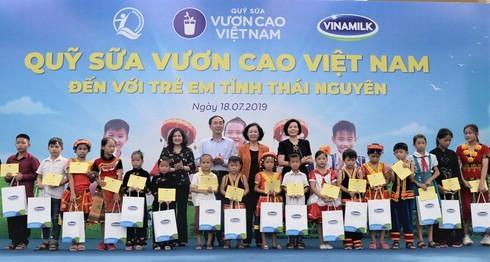 """Nỗ lực vì sứ mệnh: """"Để mọi trẻ em đều được uống sữa mỗi ngày"""""""