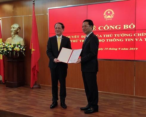 Bổ nhiệm ông Phạm Anh Tuấn, Chủ tịch VNPost giữ chức Thứ trưởng Bộ TT&TT