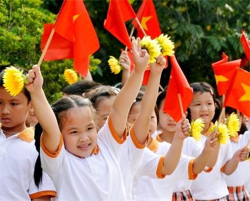 Hơn 22 triệu học sinh cả nước hân hoan đón chào năm học mới