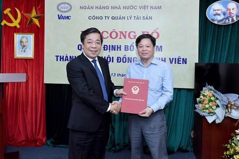 Điều động Chủ tịch Nhà máy In tiền quốc gia sang VAMC