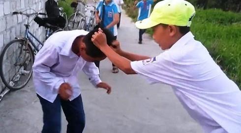 Hà Giang: Đánh nhau tại trường một học sinh bị xuất huyết não