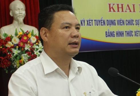 Thủ tướng bổ nhiệm PCT Quảng Nam giữ chức Thứ trưởng Bộ LĐTB&XH