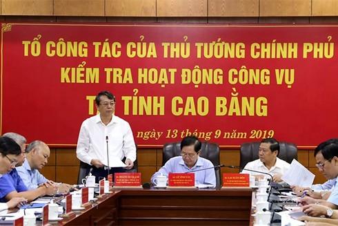 Tỉnh Cao Bằng giảm 144 lãnh đạo, quản lý cấp phòng