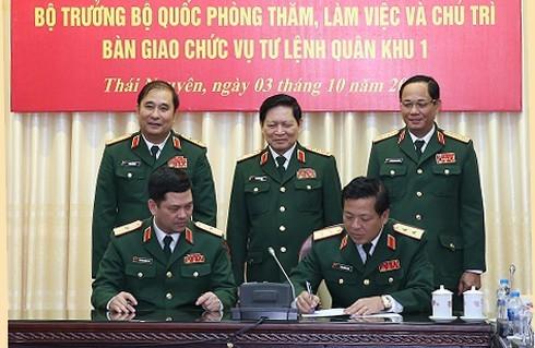 Công bố quyết định điều động, bổ nhiệm hai  nhân sự cao cấp của Quân đội