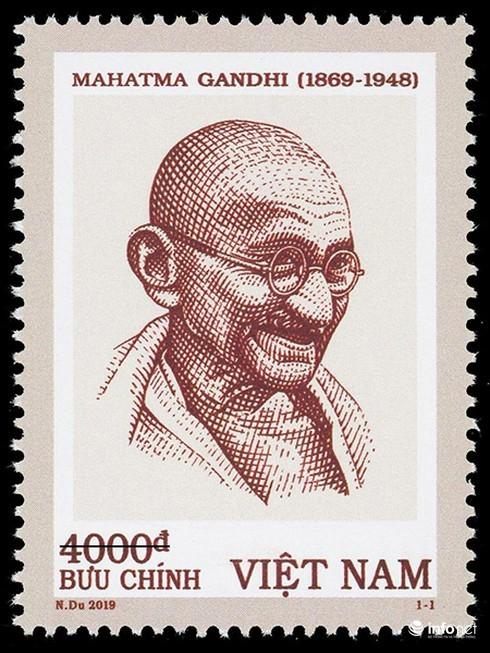 Phát hành đặc biệt bộ tem kỷ niệm 150 năm sinh Mahatma Gandhi