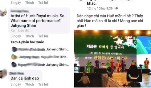 """Thực hư chuyện cán bộ ở TP Huế """"tranh suất"""" của nghệ sỹ đi giao lưu ở Hàn Quốc"""