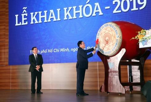 Phó Thủ tướng Vương Đình Huệ dự lễ khai khóa ĐH Quốc gia TPHCM
