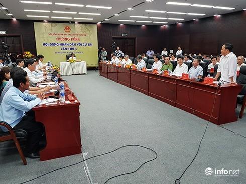 """Đà Nẵng: Chương trình """"HĐND với cử tri"""" sẽ lựa chọn đơn thư công dân để tháo gỡ"""