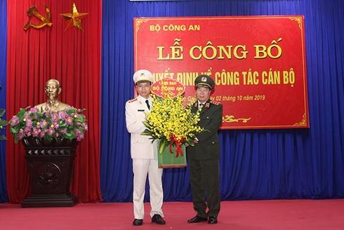 Thượng tá Nguyễn Quốc Toản giữ chức Giám đốc Công an Bắc Giang