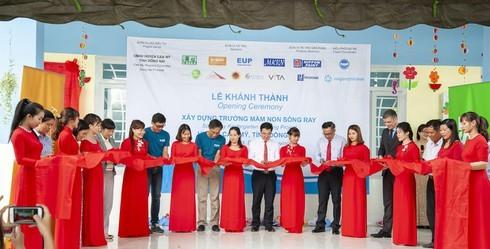 Khánh thành 2 phòng học mẫu giáo cho vùng sâu vùng xa tỉnh Đồng Nai