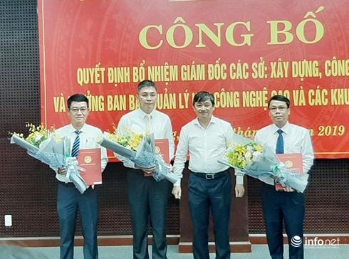 Đà Nẵng: Bổ nhiệm tân GĐ Sở Xây dựng, Công thương và Trưởng BQL Khu CNC