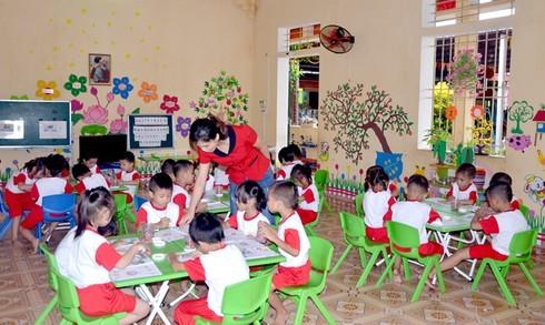 Thái Bình: Các trường mầm non không đủ điều kiện bị dừng hoạt động