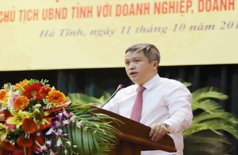 Chủ tịch Hà Tĩnh yêu cầu sở, ngành công khai các đề xuất, kiến nghị của doanh nghiệp