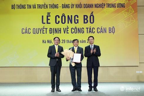 Bộ TT&TT bổ nhiệm nhân sự mới Tổng công ty Bưu điện Việt Nam