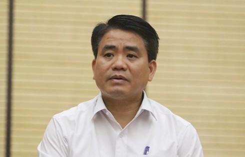 Chủ tịch Hà Nội: Cty sông Đà phát hiện nguồn đổ trộm dầu thải nhưng không báo cáo