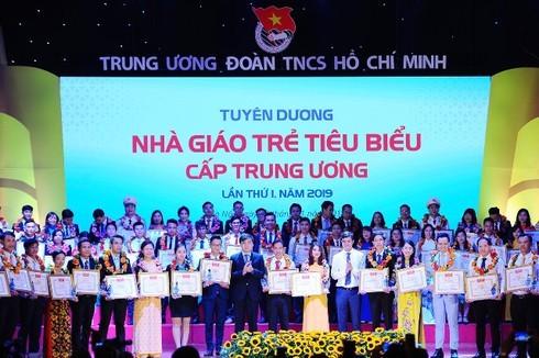 Vinh danh 75 nhà giáo trẻ tiêu biểu toàn quốc
