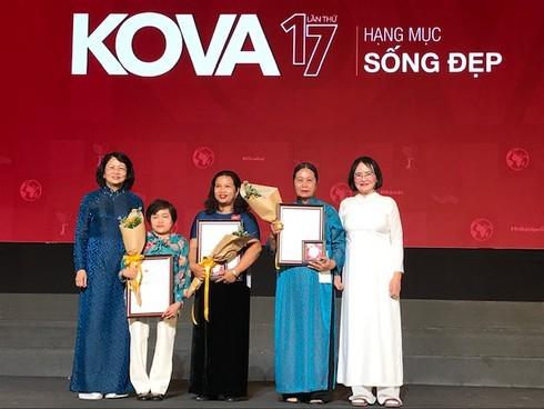 150 cá nhân và tập thể được trao Giải thưởng KOVA