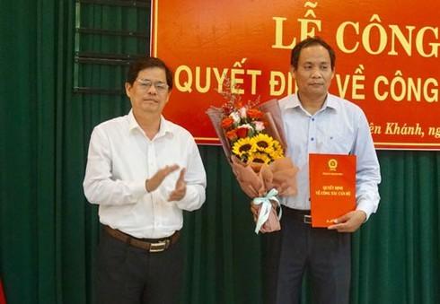 Ban Bí thư Trung ương Đảng chuẩn y nhân sự mới  ở các tỉnh