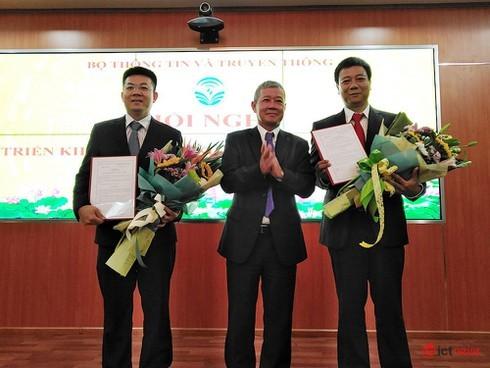 Cục Tin học hóa thuộc Bộ TT&TT được bổ sung 2 Phó Cục trưởng