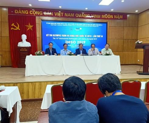 Sắp diễn ra kỳ thi Olympic Toán và Khoa học quốc tế 2019 tại Hà Nội