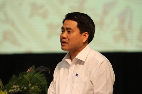 Chủ tịch Hà Nội nói gì trước nghi ngờ có lợi ích nhóm ở nước sông Đuống?