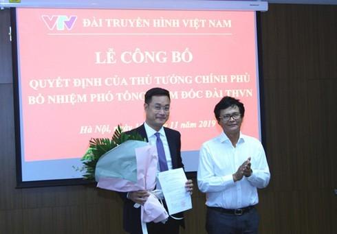 Thủ tướng bổ nhiệm Tân Phó tổng giám đốc VTV Lê Ngọc Quang