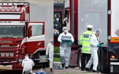 Vụ 39 người chết trong container: Đoàn Bộ ngoại giao, Bộ Công an đã sang Anh