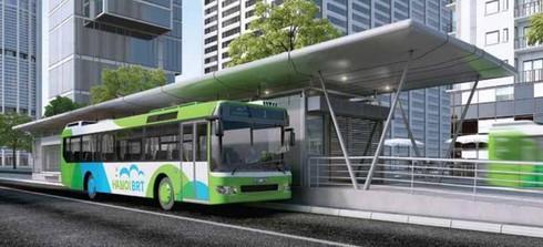 Hà Nội: Xây, lắp nhà chờ xe buýt đạt chuẩn Châu Âu, có wifi, màn hình tra cứu