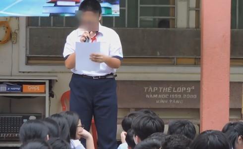 Nam sinh lớp 8 bị kỷ luật, phải xin lỗi Army trước toàn trường vì xúc phạm BTS