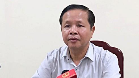 Cách chức Giám đốc Sở GD&ĐT tỉnh Hòa Bình Bùi Trọng Đắc