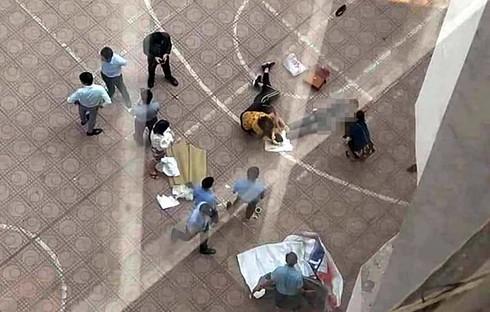 Nam sinh viên trường Đại học Kiến Trúc rơi từ tầng 13 xuống đất tử vong