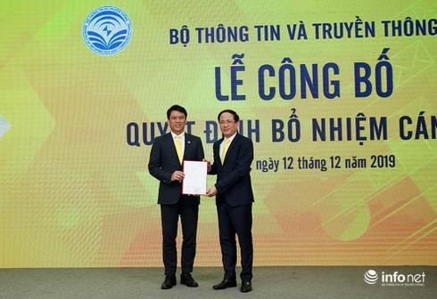 Bộ TT&TT bổ nhiệm Vụ trưởng Vụ Hợp tác quốc tế làm lãnh đạo VietnamPost