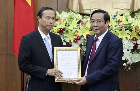 Ban Bí thư chuẩn y Tân Phó Bí thư tỉnh ủy Bà Rịa- Vũng Tàu Nguyễn Văn Thọ