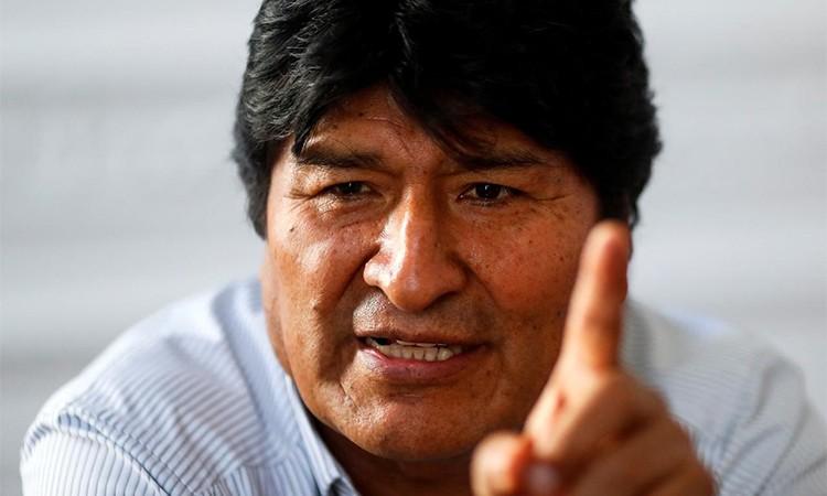 Cựu tổng thống Bolivia tuyên bố sẽ về nước