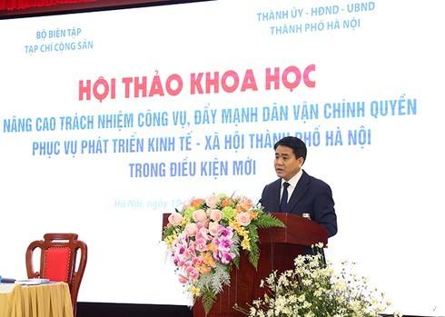 """Chủ tịch Hà Nội: Vẫn còn CBCC giải quyết công việc kiểu """"ban ơn"""""""
