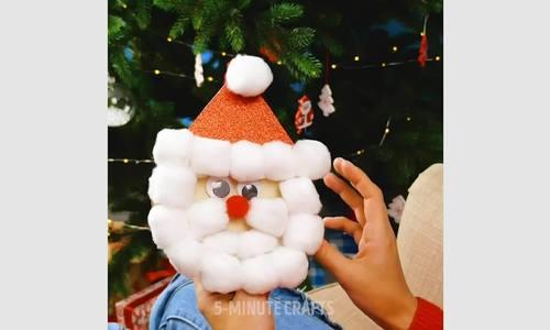 Sáng tạo thiệp Giáng sinh