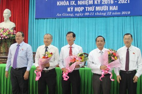Tân Phó chủ tịch UBND tỉnh An Giang Lê Văn Phước