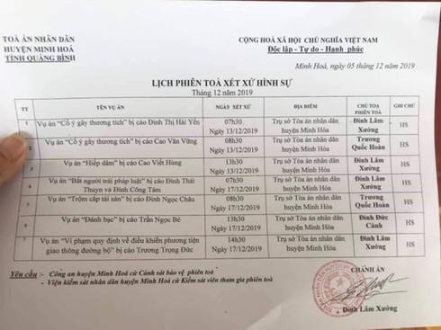 Quảng Bình: Chánh án mây mưa với nữ kế toán tại phòng làm việc sẽ xử vụ hiếp dâm
