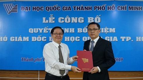 PGS.TS 7x giữ chức PGĐ ĐH Quốc gia TP Hồ Chí Minh