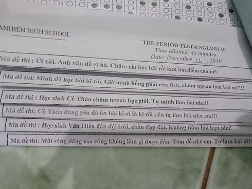 Học sinh khóc thét với loạt mã đề 'bá đạo' của giáo viên