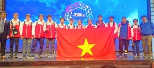 62 học sinh Việt Nam giành giải tại Kỳ thi vô địch các đội tuyển Toán thế giới