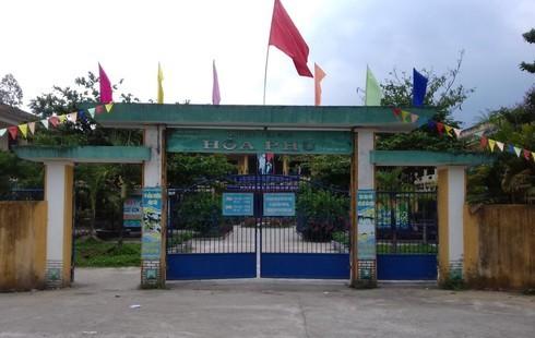 Đà Nẵng: Đức tài trợ nâng cấp cơ sở vật chất cho HS trường tiểu học miền núi