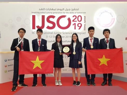 Việt Nam giành 6 Huy chương tại Kỳ thi Olympic Khoa học trẻ quốc tế