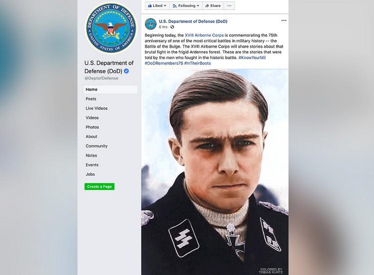 Quân đội Mỹ vinh danh nhầm sĩ quan phát xít
