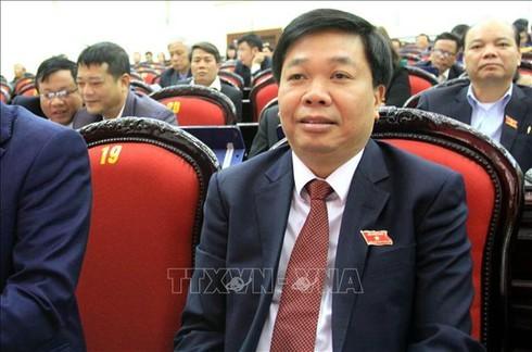 Ông Nguyễn Quang Hưng chính thức trở thành tân Phó chủ tịch tỉnh Thái Bình