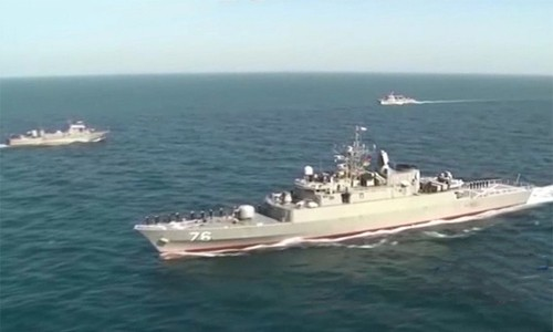 Cuộc tập trận thể hiện tham vọng Nga, Trung ở Vùng Vịnh